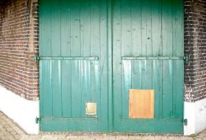 De oude deuren
