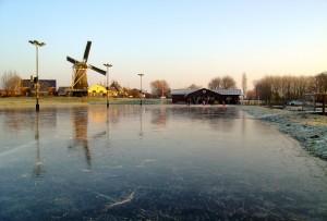 De schaatsbaan