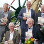 V.l.n.r. Kees de Koning, Peter van Haagen, Ben van Hagen, Aart Struijk en Tinus Verwijmeren. Foto Ron Labordus