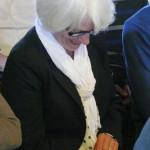 Echtgenote van de schrijver. Foto: Ron Labordus