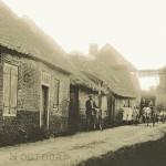 1915: foto met gezicht op de molen vanaf de Geerweg