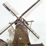 1972: het eerst verval van de molen wordt zichtbaar