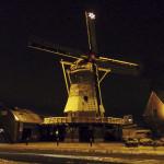2011: een kerstkaart met daarop de Windlust met de verlichte ster in de wiek